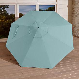 9' Round Sunbrella ® Soft Mineral Umbrella Canopy