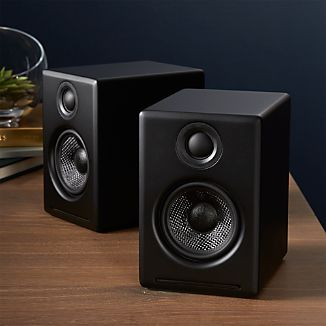Audioengine 2+ Black Desktop Speakers, Set of 2