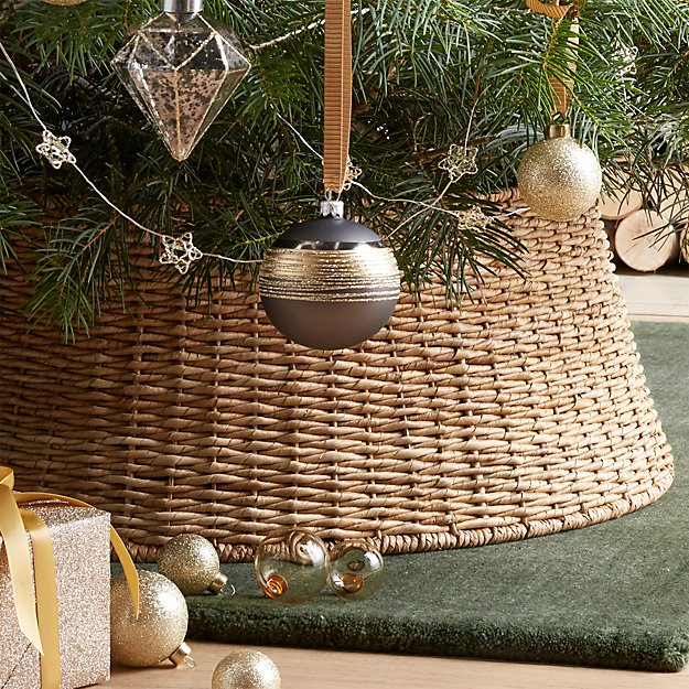 Abaca Woven Tree Collar Reviews Crate And Barrel