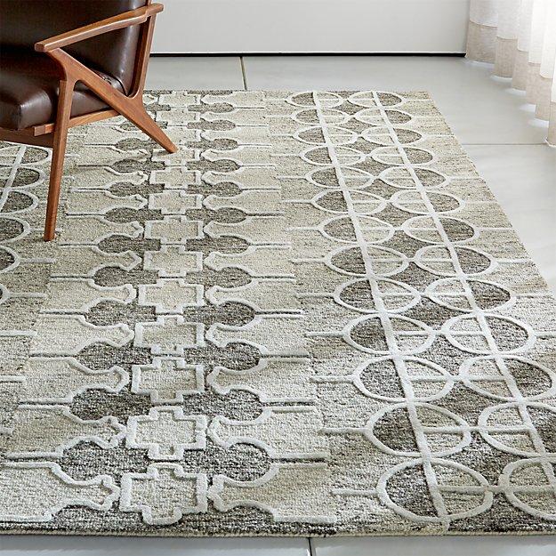 Abbey Wool-Blend Rug