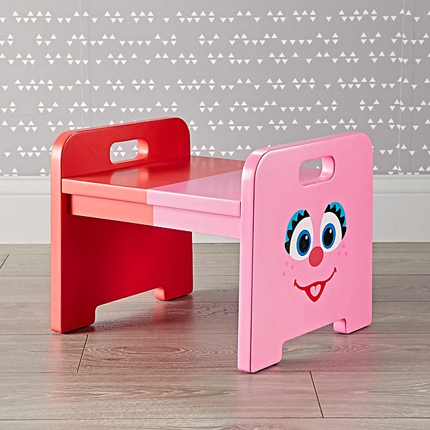 Sesame Street Abby And Elmo Step Stool Reviews Crate
