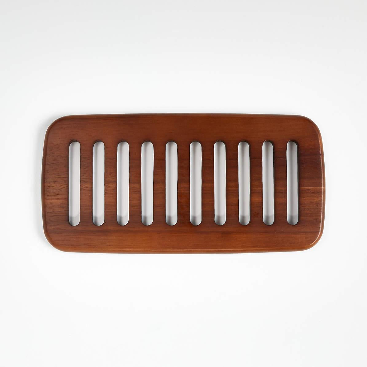 Abella Large Wood Trivet Reviews Crate And Barrel