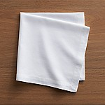 Abode White Cloth Dinner Napkin