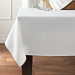 Abode 60 x120  White Tablecloth