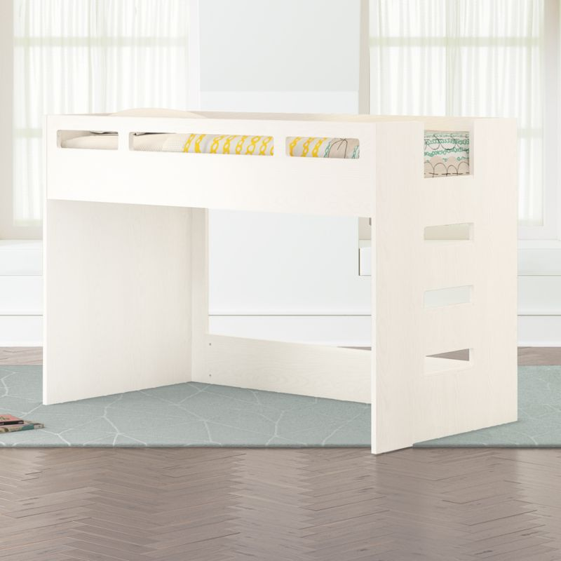 Abridged Low Twin Loft Bed Reviews Crate And Barrel