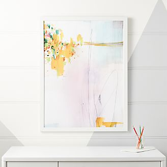 Abstract Mirage Framed Wall Art Kids