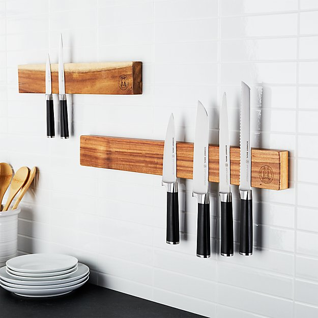 Schmidt Brothers ® Acacia Magnetic Wall Bars - Image 1 of 8