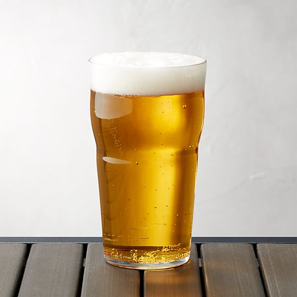 Acrylic Beer Glass