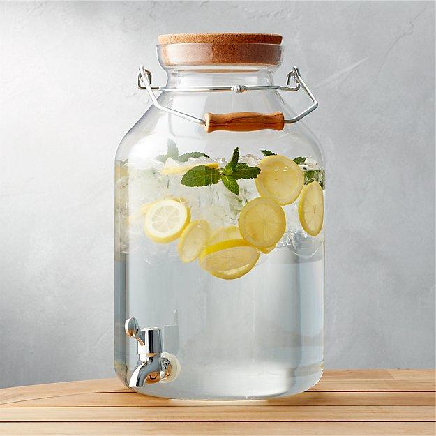 Acrylic Drink Dispenser 3 Gal