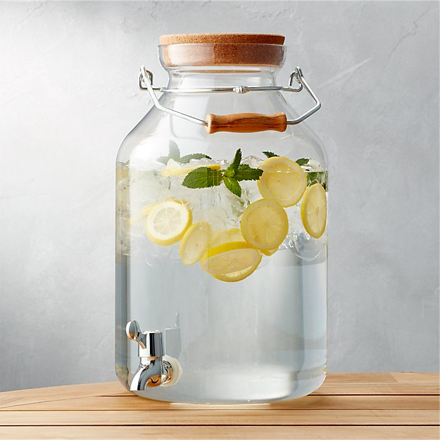 Acrylic Drink Dispenser - Image 1 of 5