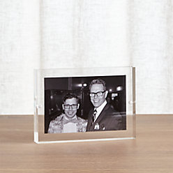Acrylic 4x6 Block Picture Frame