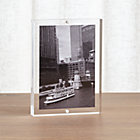 Acrylic Wall Frames acrylic block picture frames | crate and barrel
