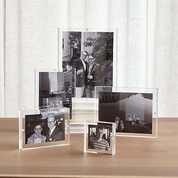 Lucite Picture Frames 5x7