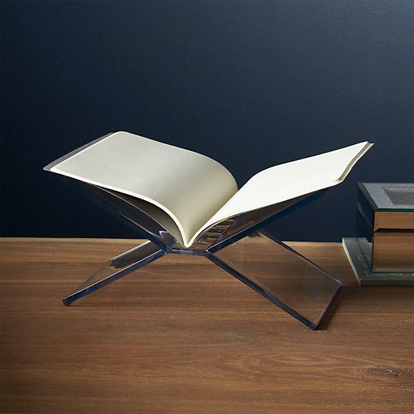 AcrylicBookStandSHF16