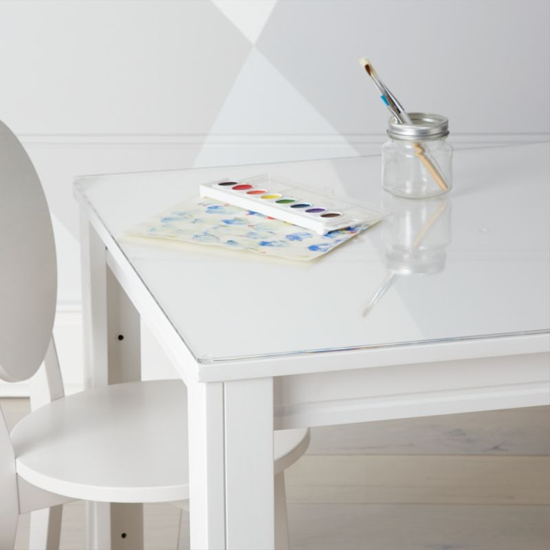 Admirable Small Acrylic Kids Table Mat Pabps2019 Chair Design Images Pabps2019Com
