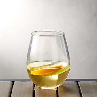 Acrylic Stemless Wine Glass