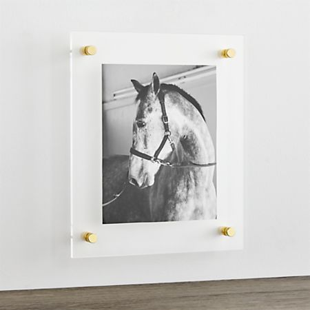 Br 12 X14 Floating Acrylic Wall Frame