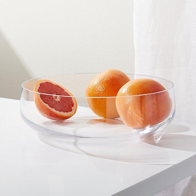 Addie Large Glass Bowl - Image 1 of 4