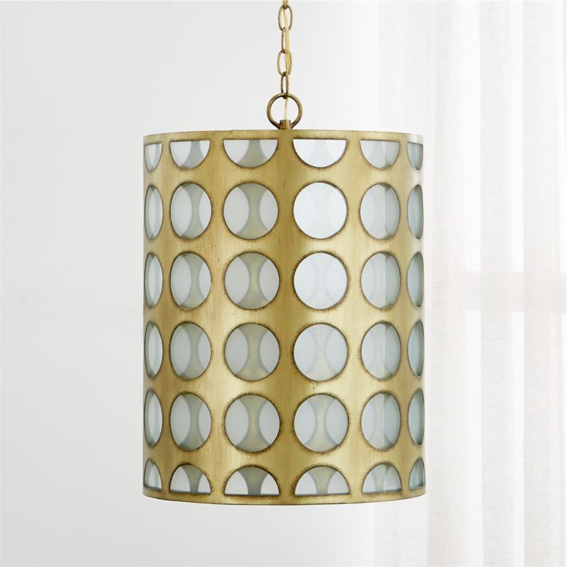 crate and barrel lighting fixtures. Addison Brass Cylinder Pendant Light Crate And Barrel Lighting Fixtures N