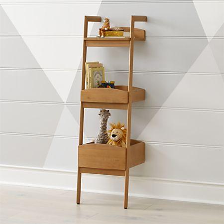huge discount 90097 ef4af Addison Wood Leaning Bookcase