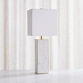White Lamps Crate And Barrel