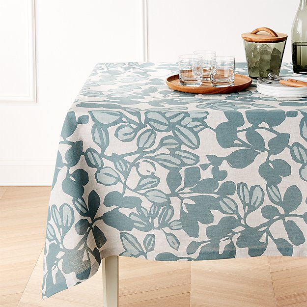 "Adeline Linen 60""x90"" Tablecloth"