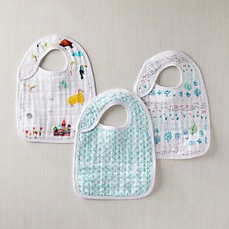 aden + anais Around the World Snap Bibs, Set of 3