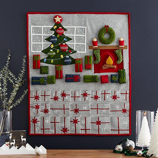 Fireplace Scene Advent Calendar
