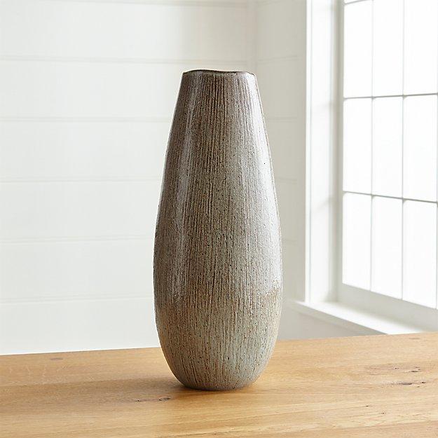 Aerial Tall Ceramic Vase