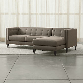 Fabric Sectional Sofas | Crate and Barrel