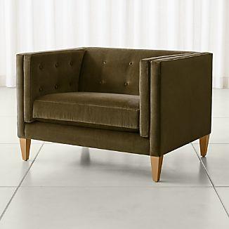 Aidan Velvet Chair
