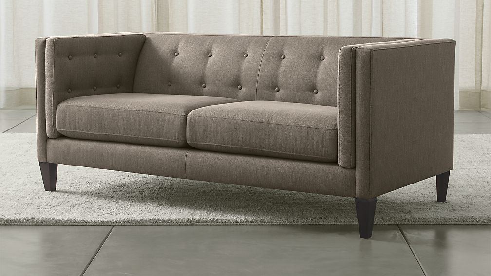Aidan Tufted Apartment Sofa - Image 1 of 3