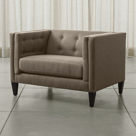 Fine Aidan Tufted Chair And A Half Lamtechconsult Wood Chair Design Ideas Lamtechconsultcom