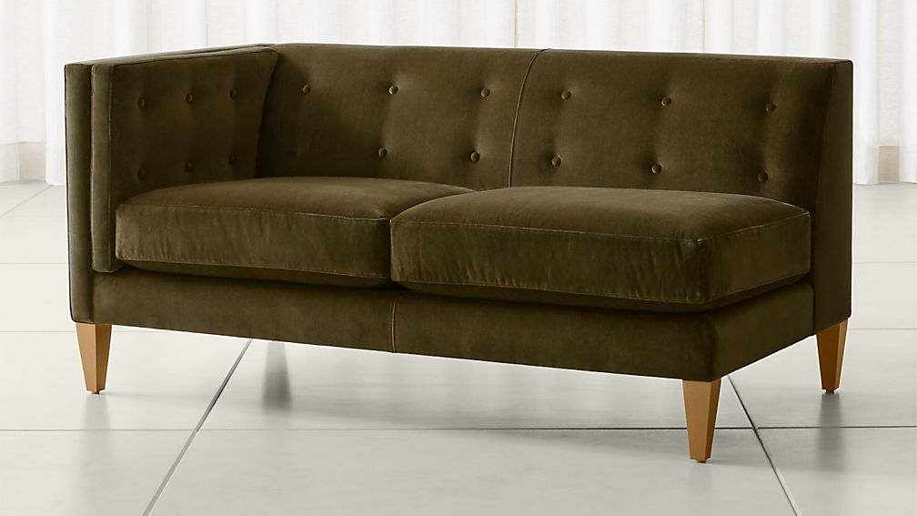 d tufted loveseat com amazon dp gordon kitchen brown dining