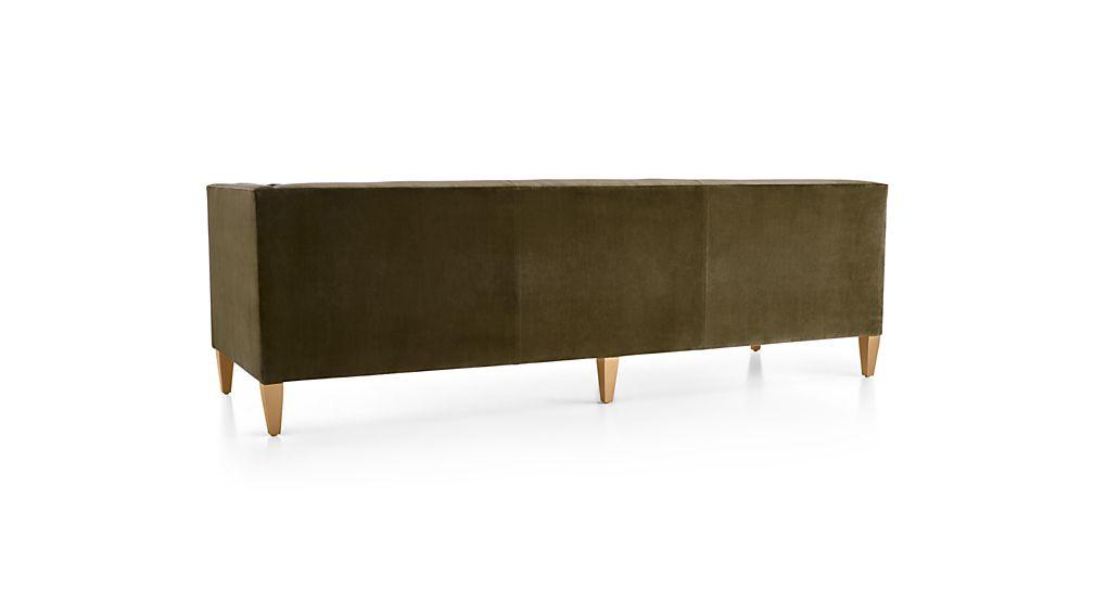 Aidan Velvet Right Arm Corner Sofa