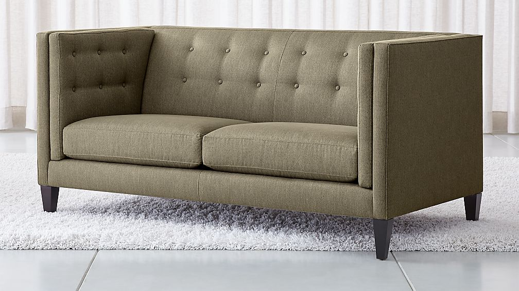 Aidan Tall Tufted Apartment Sofa - Image 1 of 6