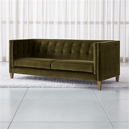 Aidan Velvet Tufted Sofa Reviews