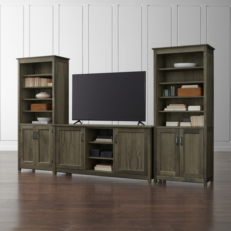 Wide Tv Stands Crate And Barrel