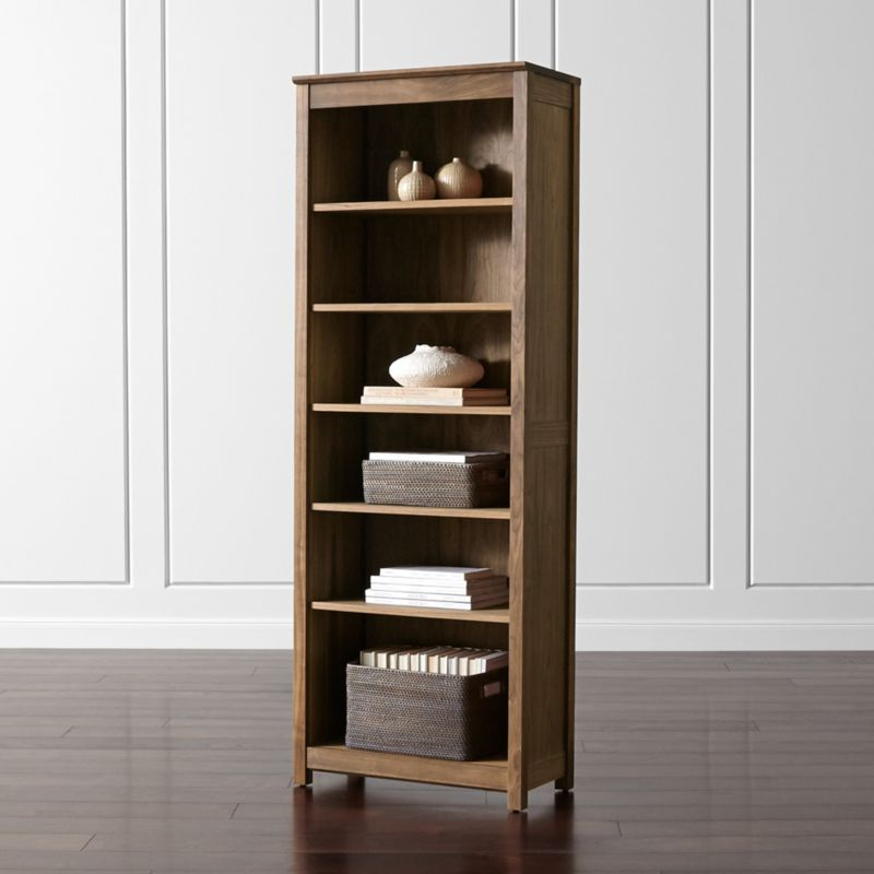 ainsworth walnut bookcase - Colored Bookshelves