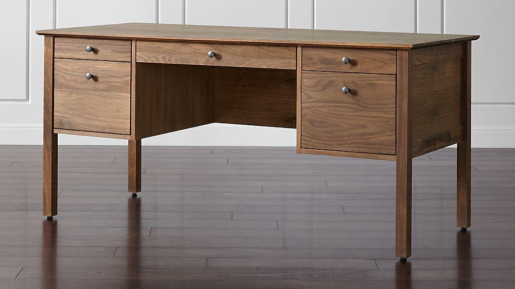 Ainsworth Walnut Desk - Image 1 of 7