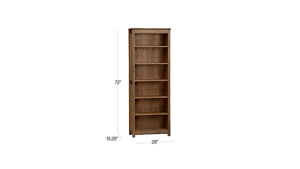Ainsworth Walnut Bookcase In Bookcases Reviews Crate