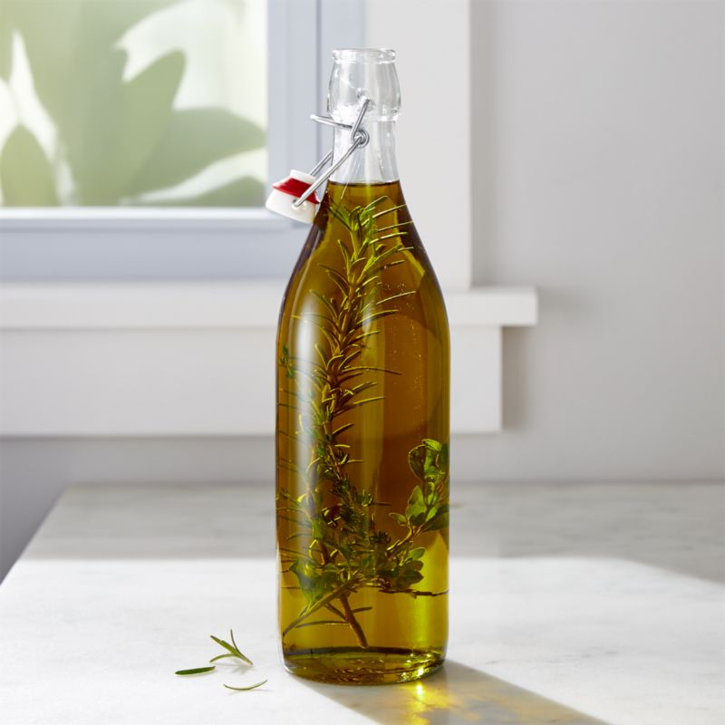 Airtight Glass Swing Top Bottle Reviews Crate And Barrel