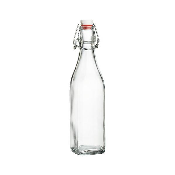 Small Airtight Glass Bottle