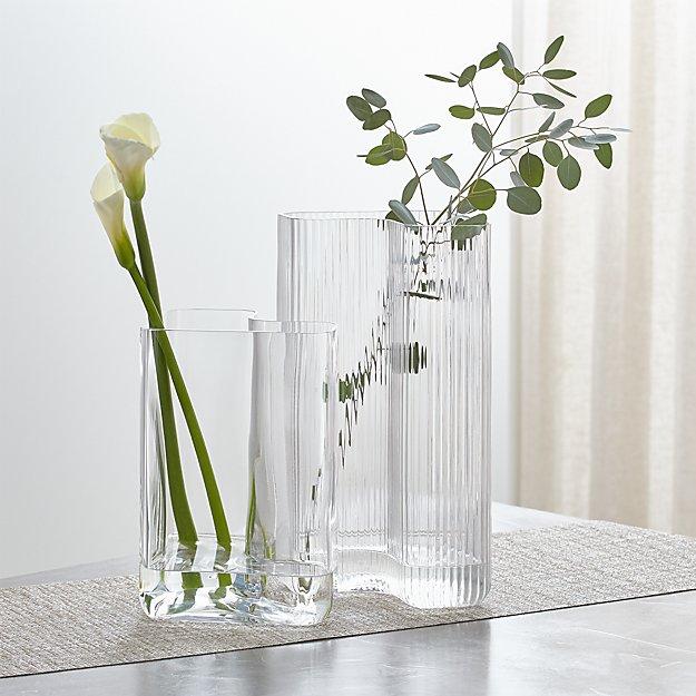 Alanya Glass Nesting Vases - Image 1 of 6