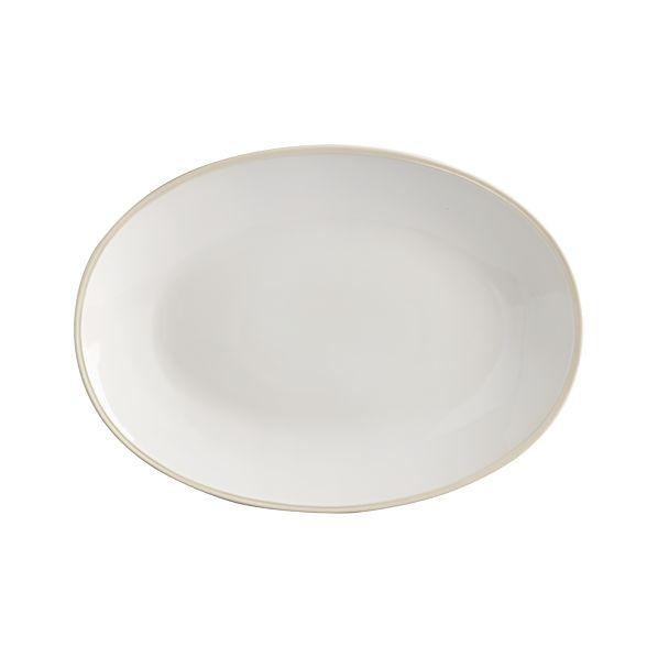 "Alden 16""x11.75"" Platter"