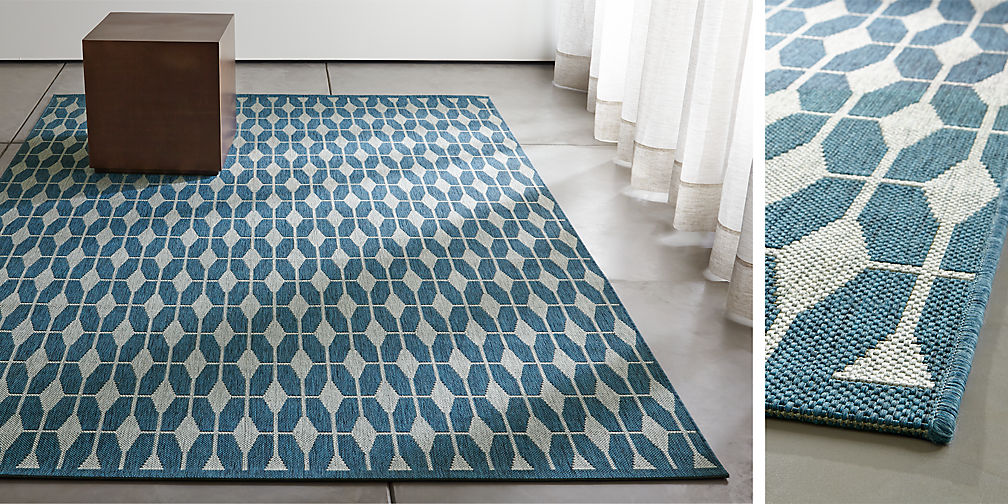 Area rugs small and large rugs crate and barrel for Cb2 indoor outdoor rug