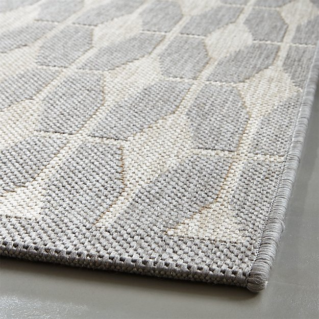 Aldo Grey Outdoor Rug Crate And Barrel