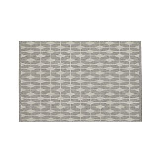 Aldo Dove Grey Indoor-Outdoor 4'x6' Rug