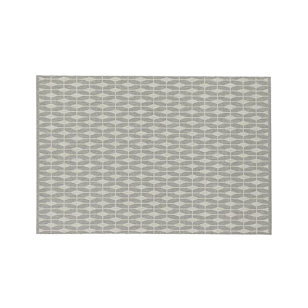 Aldo Dove Grey 6'x9' Rug