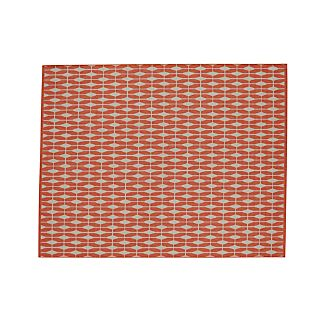 Aldo Mandarin Orange Indoor-Outdoor Rug 8'x10'